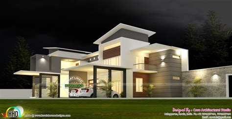 5 bedroom modern contemporary house kerala home design