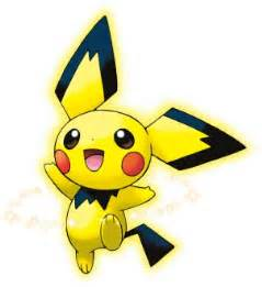 pikachu colored pichu pichu evolution images images