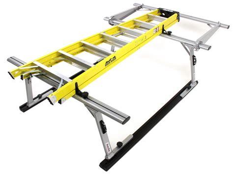 tracrac sr sliding truck bed ladder rack w the cab