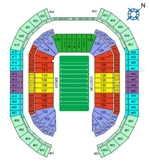 arizona cardinals seating chart prices fhs entertainment in groupon
