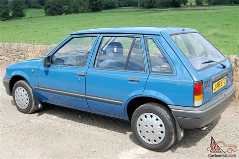 vauxhall blue vauxhall nova luxe blue 1991 only 13 000 miles amazing