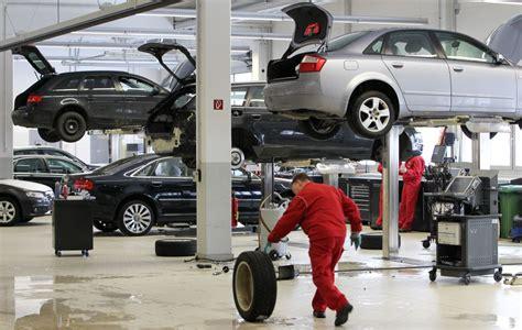 Auto Werkstätten by Fahrzeugalter Und Werkstattbesuche Auto News