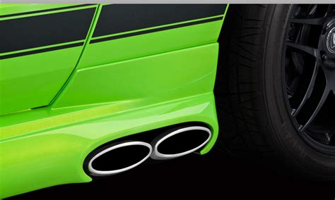 2013 Mustang Gt Side Exhaust by Get The Cervini Side Exit Exhaust For Your 2013 14 Gt Or
