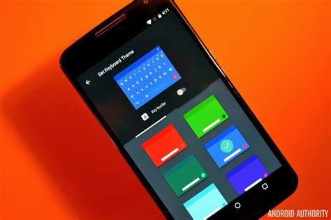 themes for google keyboard android google keyboard update delivers customizable themes