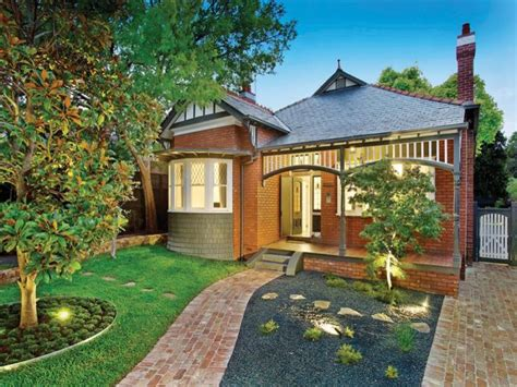 brick house designs australia photo of a brick house exterior from real australian home house facade photo 256740