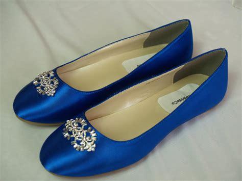 royal blue shoes flats wedding flat royal blue shoes with brooch royal blue plus 200