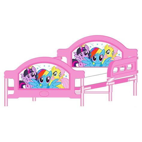 my little pony toddler bed my little pony junior toddler bed deluxe mattress new ebay
