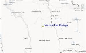 springs canada map fairmont springs ski resort guide lagenkarte fairmont