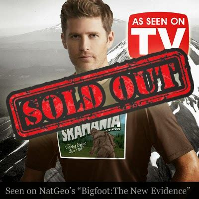 Tshirt Natgeo Lost bigfoot news bigfoot lunch club sakamania postcard