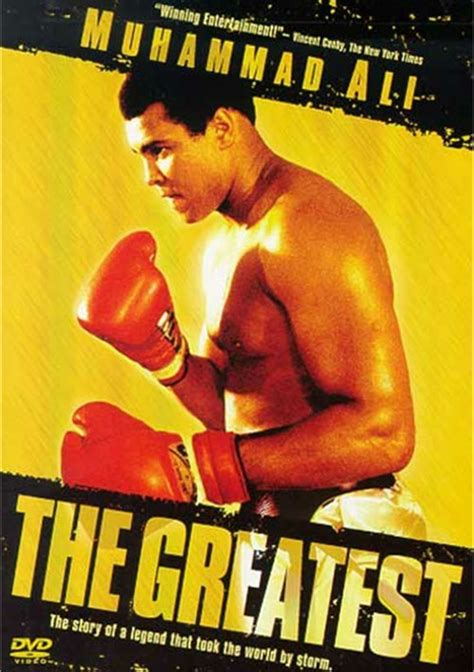 muhammad ali biography documentary greatest the muhammad ali dvd 1977 dvd empire