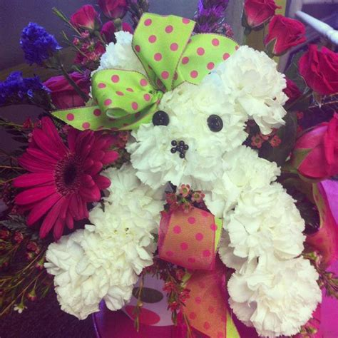 puppy flowers florist friday recap 7 27 8 2 a volume of varieties