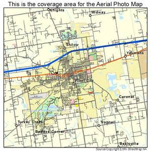 aerial photography map of plant city fl florida