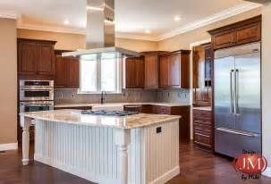 new center island kitchen design in castle rock jm