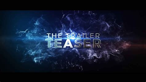 After Effects Template The Cinematic Trailer Teaser Youtube After Effects Template