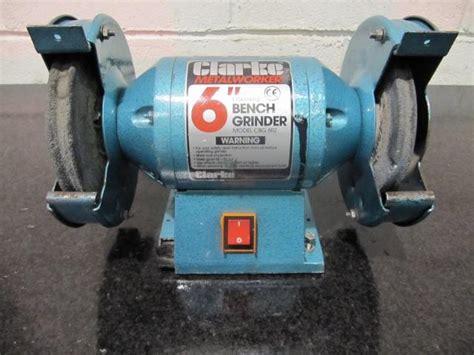 clarke bench grinder clarke 6 double ended bench grinder
