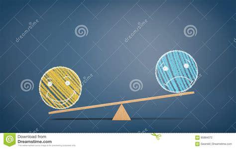 una oscilacion una oscilaci 243 n de madera en fondo azul con un dibujo de