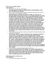 Irony In The Lottery Essay by Irony Essay On The Lottery Tess Hutchinson In The Lottery Shmoop