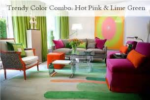 combination color for green trendy color combo pink lime green