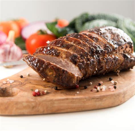 cuisiner l 馗hine de porc filets de porc au miel et au vinaigre balsamique coup de