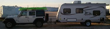 jeep wrangler unlimited towing travel trailer motorhome magazine open roads forum travel trailers jeep