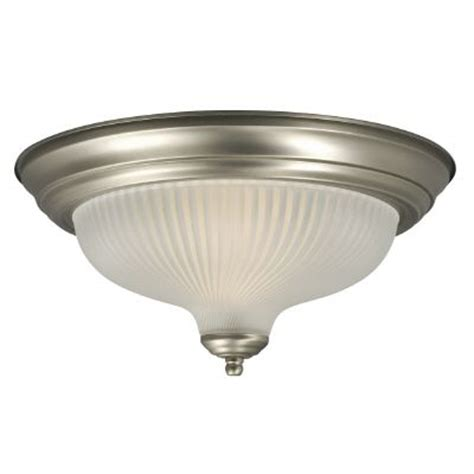 Home Depot Ceiling Ls by Hton Bay Ceiling Fixture With Frosted Glass The Home
