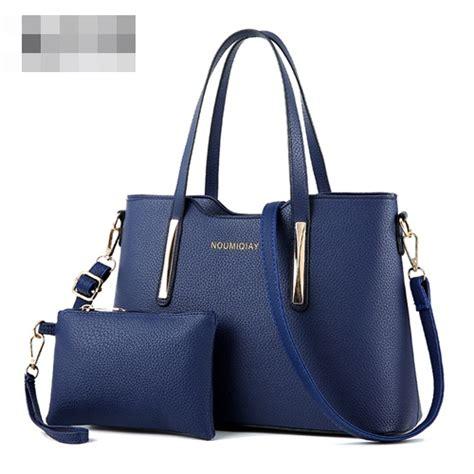Tas Fashion Set Import Wanita 0326 2in1 jual b1818 blue tas selempang import 2in1 grosirimpor