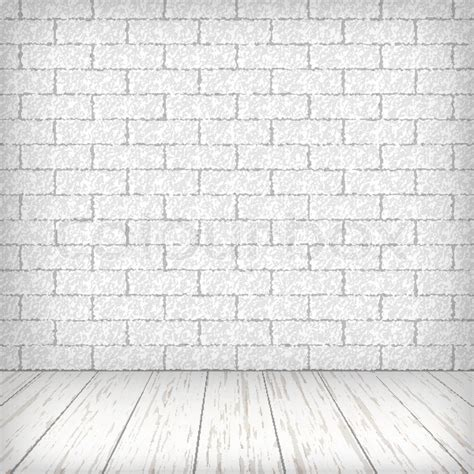 How To Get Floor Plans For My House white brick wall with wooden floor in a vintage interior
