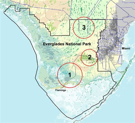 pythons in florida map our national parks 187 pythons move into everglades
