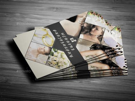 wedding photography business cards templates 22 wedding business card templates free premium