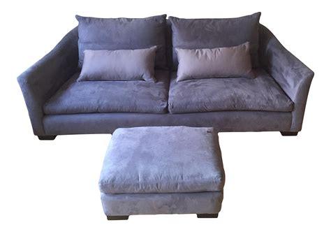 montauk sofa montauk sofa modern light grey purple suede julian sofa