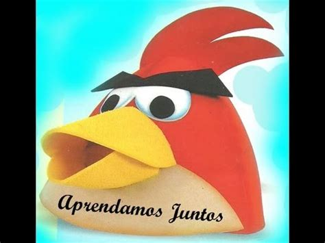 gorros de angry birds apexwallpapers com gorro de los angry birds en fomy youtube