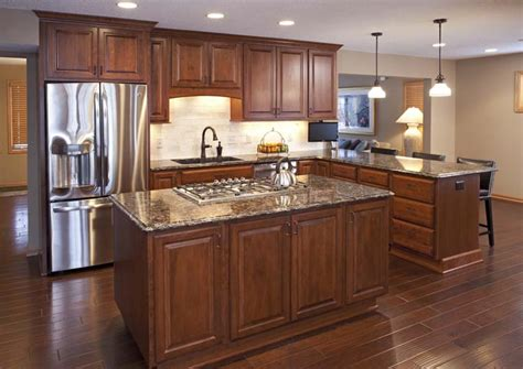 Apple Valley Kitchen Cabinets | project feature apple valley kitchen remodel cherry wood