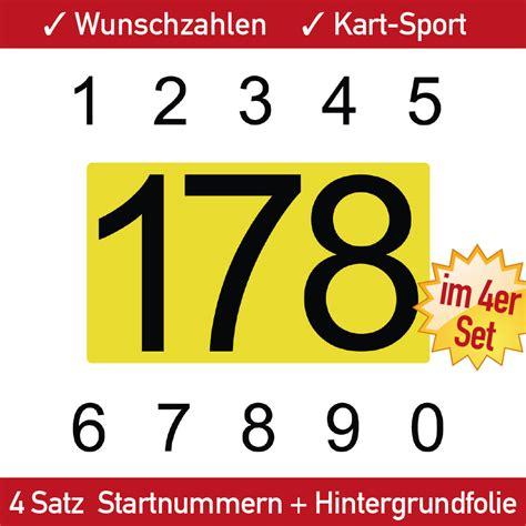 Startnummer Aufkleber Auto by Zweifarbige Startnummern F 252 R Motorrad Auto Und Quad