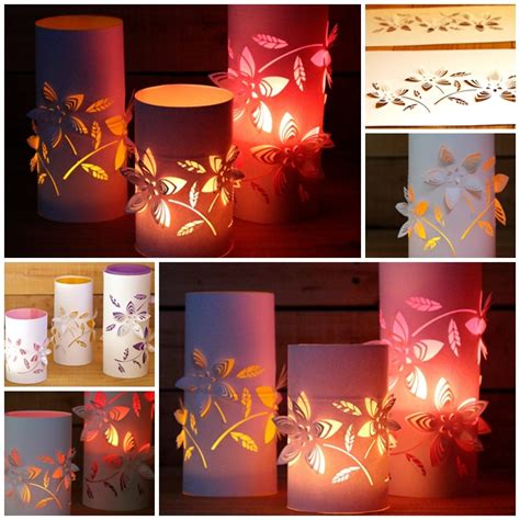 12 best photos of diy paper lantern template free