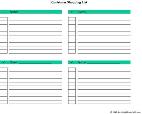 shopping lists template status report template word