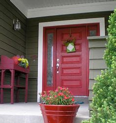 green house red door 1000 images about outside house colors maybe on
