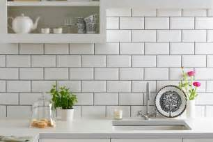 Kitchen Tiling Designs the simple metro tile ceramic or glass this very effective wall tile