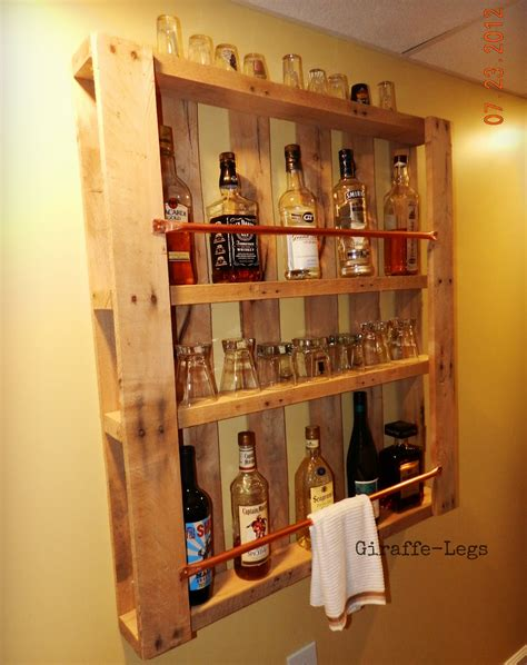 wall bar do it yourself pallet bar cozylittlehouses