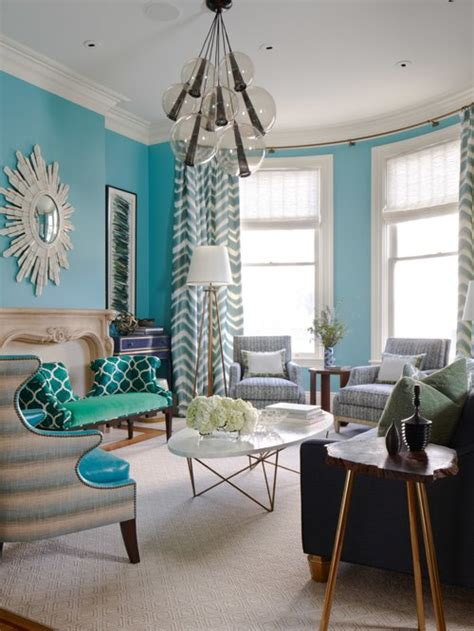 Turquoise And Black Living Room - turquoise living room ideas pictures remodel and decor