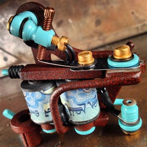 custom tattoo machines 166 best workhorse high end machines images on