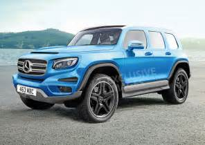 Mercedes In New Mercedes Glb To Become A Baby G Wagen Auto Express
