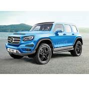 New Mercedes GLB To Become A Baby G Wagen  Auto Express