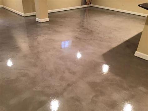 polished concrete basement floor garage floor epoxy coatings and paint clarksville md