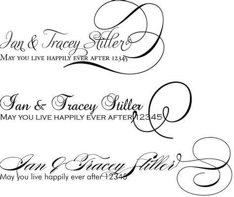 Wedding Invitation Font Pairing by Wedding Font Arjaybi S