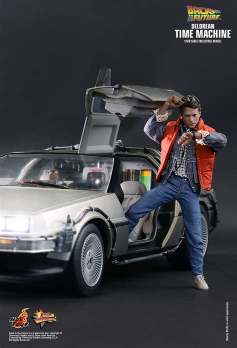 what year is the delorean from back to the future toys mms260 back to the future delorean time machine