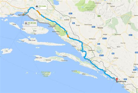 ferry dubrovnik to hvar how long how to travel from split to dubrovnik split croatia
