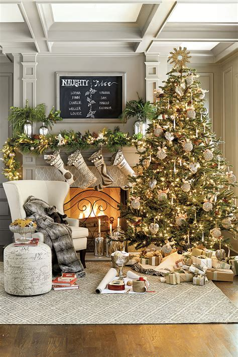 Ballard Designs Christmas Stockings 30 modern christmas decor ideas for delightful winter
