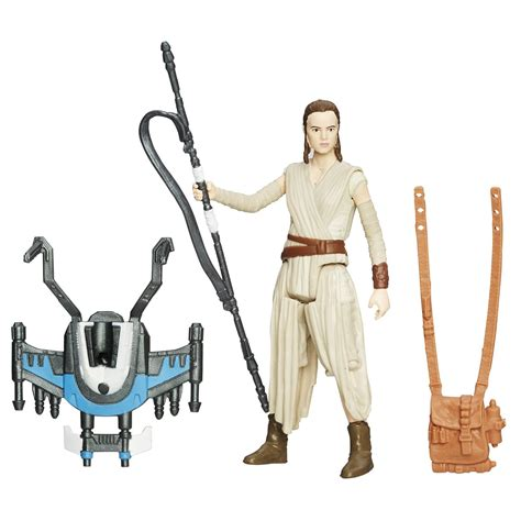 Hasbro Wars W1 16 Awakens 3 75 Figure Completed 1 more awakens merch than you can shake a staff at the nerdy bird