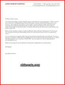 Generic Cover Letter Sle by Cover Letter Obfuscata