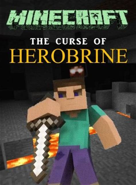 minecraft the curse of herobrine minecraft books by
